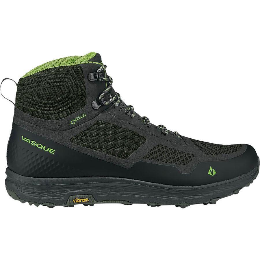 (取寄)バスク メンズ ブリーズ LT Gtx ハイキング ブーツ Vasque Men's Breeze LT GTX Hiking Boot Beluga/Lime Green