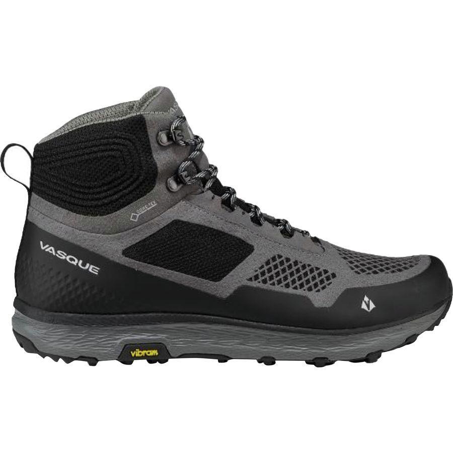 (取寄)バスク メンズ ブリーズ LT Gtx ハイキング ブーツ Vasque Men's Breeze LT GTX Hiking Boot Gargoyle/Jet Black