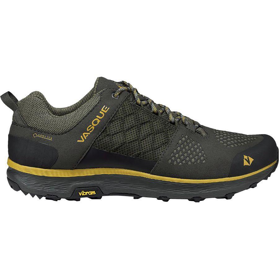 (取寄)バスク メンズ ブリーズ LT ロウ Gtx ハイキングシューズ Vasque Men's Breeze LT Low GTX Hiking Shoe Beluga/Tawny Olive