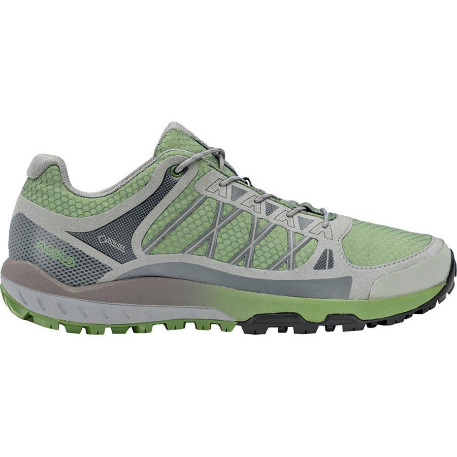 【クーポンで最大2000円OFF】(取寄)アゾロ レディース グリッド GV ハイキングシューズ Asolo Women Grid GV Hiking Shoe Hedge/Green