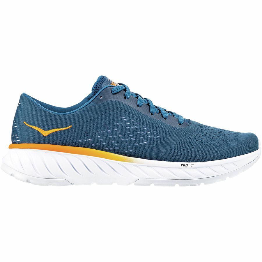 (取寄)ホカ オネ オネ メンズ カヴー 2 ランニングシューズ HOKA ONE ONE Men's Cavu 2 Running Shoe Corsair Blue/Bright Marigold