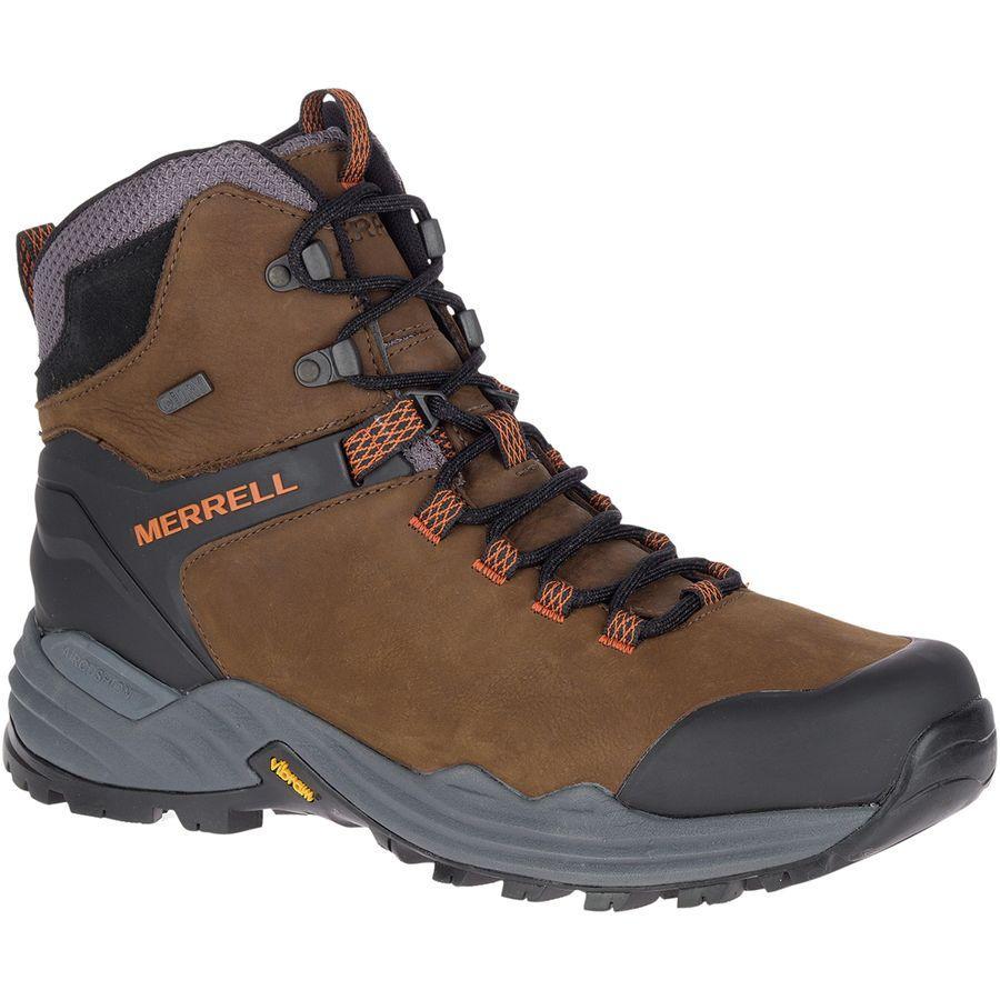 【トレッキング クライミング アウトドア 登山靴】 【メンズ シューズ ブーツ 大きいサイズ】 (取寄)メレル メンズ フェイズバウンド 2 トール バックパッキング ブーツ Merrell Men's Phaserbound 2 Tall Backpacking Boot Dark Earth