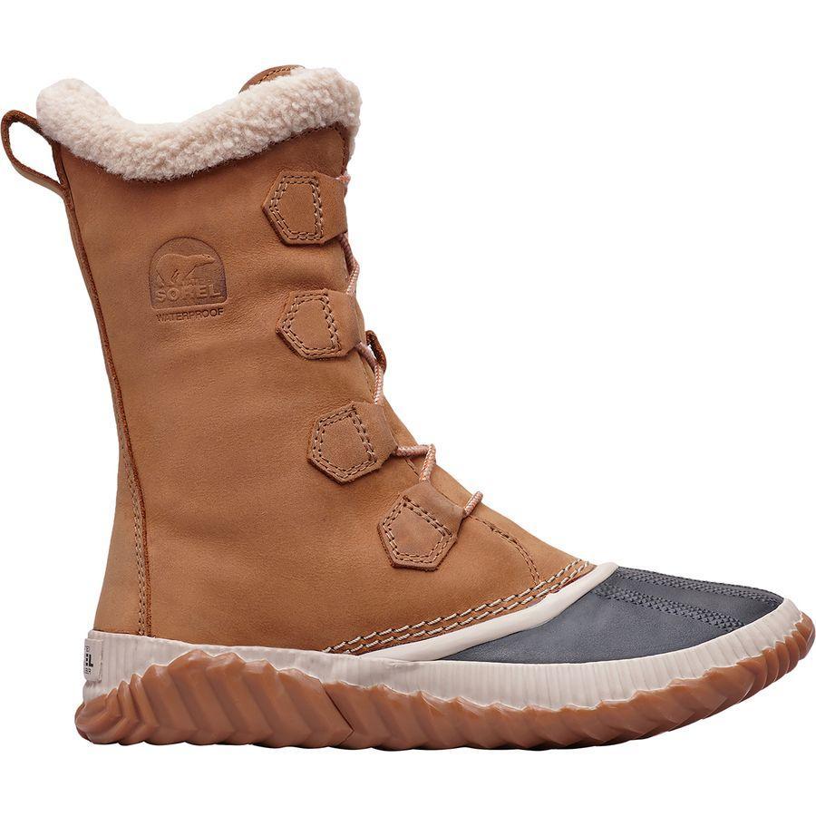 (取寄)ソレル レディース アウト Nアバウト プラス トール ブーツ Sorel Women Out N About Plus Tall Boot Elk
