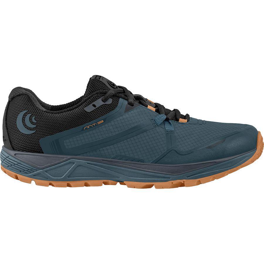 【クーポンで最大2000円OFF】(取寄)トポアスレチック メンズ MT-3トレイル ランニングシューズ Topo Athletic Men's MT-3 Trail Running Shoe Slate/Orange