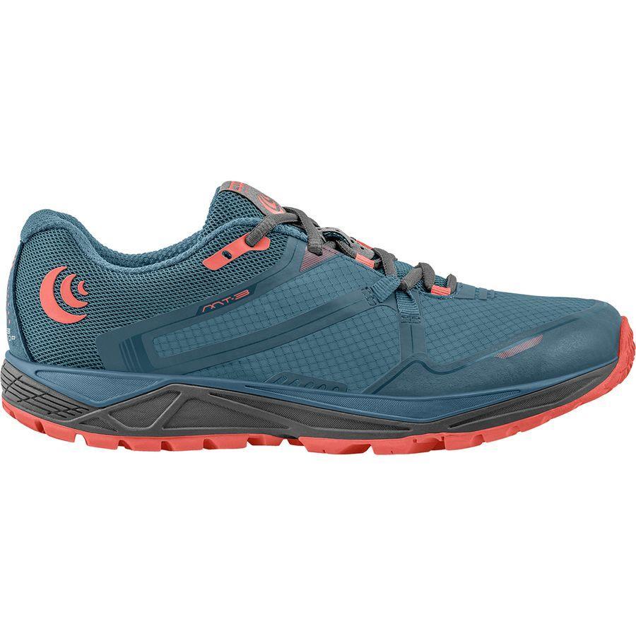 (取寄)トポアスレチック レディース MT-3トレイル ランニングシューズ Topo Athletic Women MT-3 Trail Running Shoe Blue/Coral