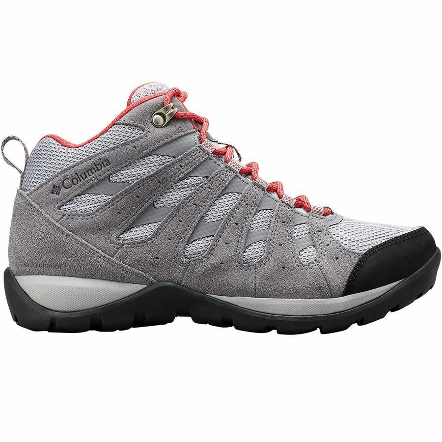 (取寄)コロンビア レディース レドモンド V2ミッド WP ハイキング ブーツ Columbia Women Redmond V2 Mid WP Hiking Boot Steam/Daredevil