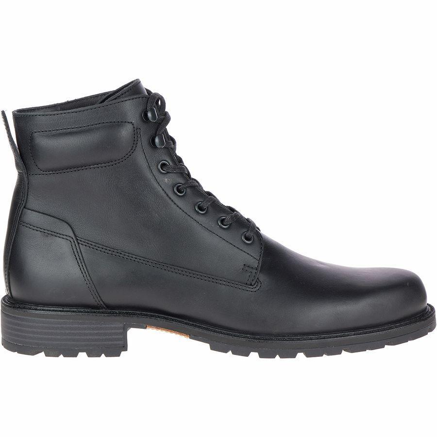 (取寄)メレル メンズ レガシー ミッド WP ブーツ Merrell Men's Legacy Mid WP Boot Black