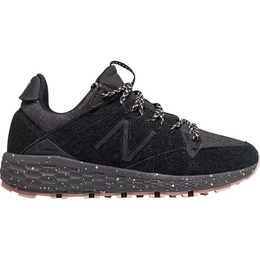 (取寄)ニューバランス レディース フレッシュ フォーム クラッグ トレイル ランニングシューズ New Balance Women Fresh Foam Crag Trail Running Shoe Black/White Oak