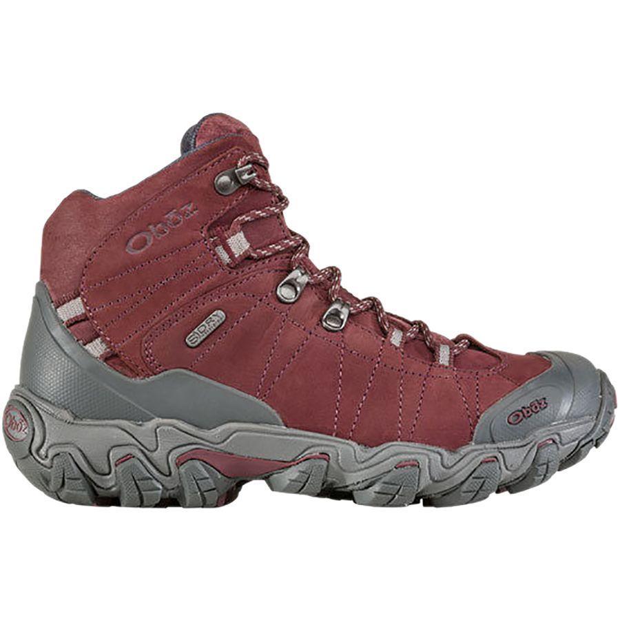 (取寄)オボズ レディース ブリッガー ミッド B-Dry ハイキング ブーツ Oboz Women Bridger Mid B-Dry Hiking Boot Mahogany