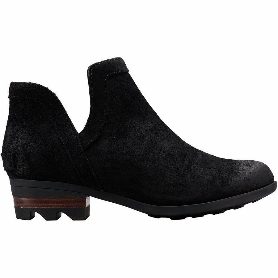(取寄)ソレル レディース ローラ カット アウト ブーツ Sorel Women Lolla Cut Out Boot Black Nubuck