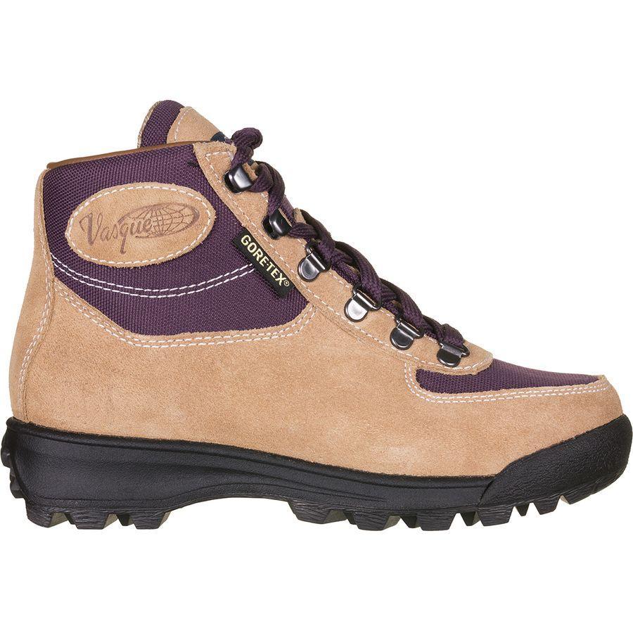 【クーポンで最大2000円OFF】(取寄)バスク レディース スカイウォーク Gtx ハイキング ブーツ Vasque Women Skywalk GTX Hiking Boot Desert Sand/Plum Perfect