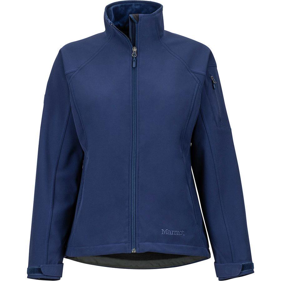 (取寄)マーモット レディース グラビティ ソフトシェル ジャケット Marmot Women Gravity Softshell Jacket Arctic Navy