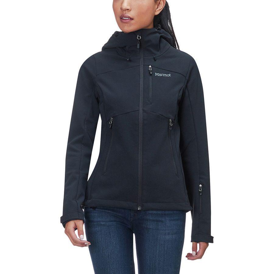 (取寄)マーモット レディース モブリス ソフトシェル ジャケット Marmot Women Moblis Softshell Jacket Black