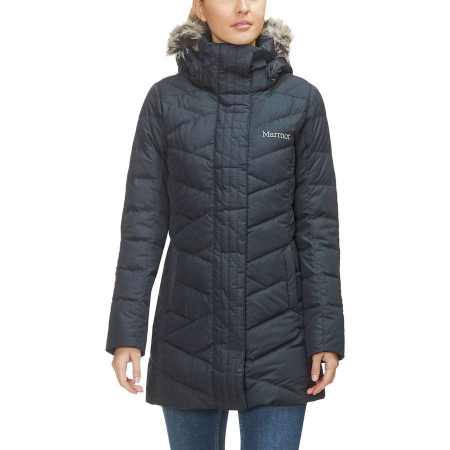 (取寄)マーモット レディース ストロールブリッジ ダウン ジャケット Marmot Women Strollbridge Down Jacket Black
