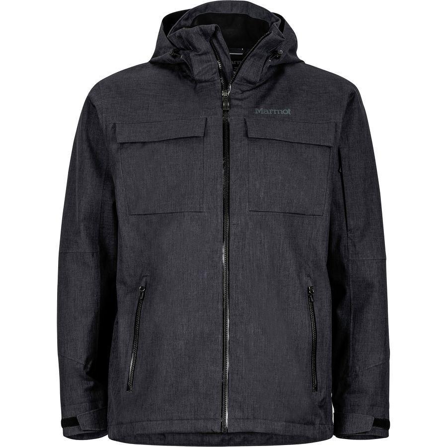 【クーポンで最大2000円OFF】(取寄)マーモット メンズ ラディウス ジャケット Marmot Men's Radius Jacket Black