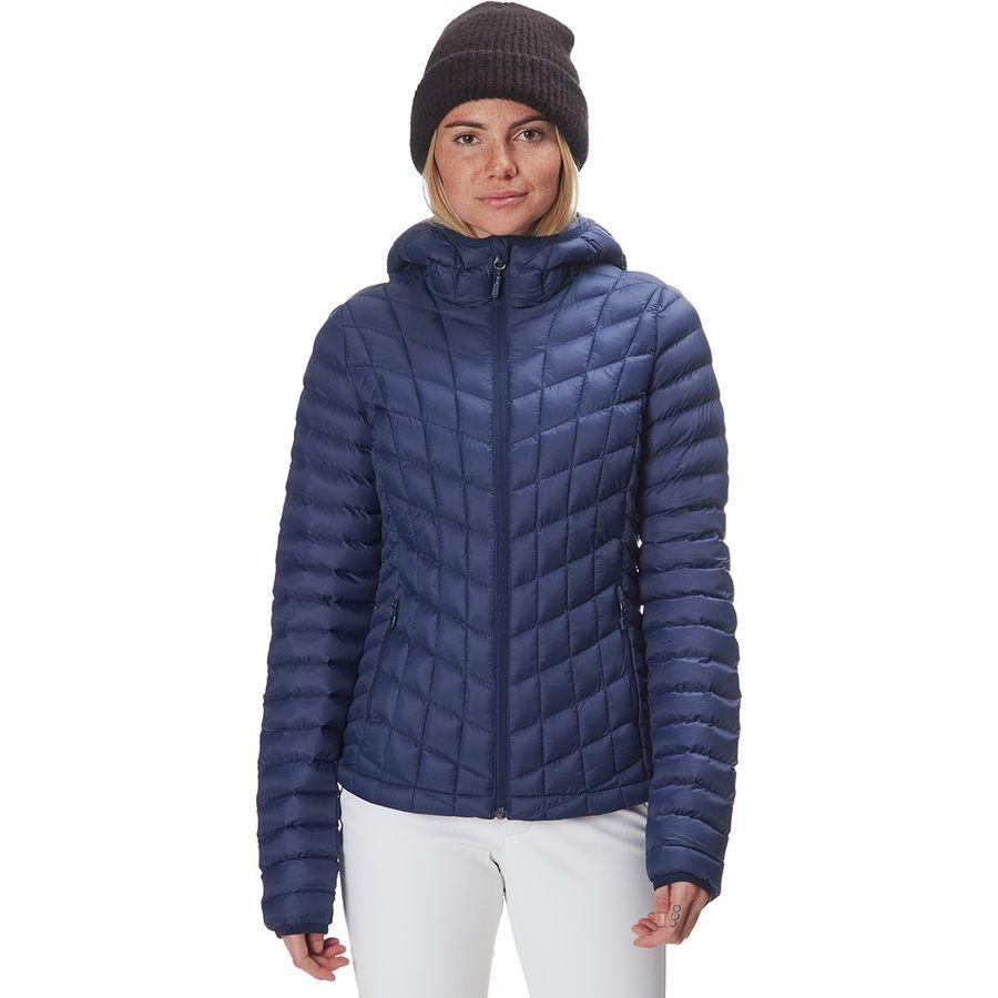 (取寄)マーモット レディース フェザーレス フーデッド インサレーテッド ジャケット Marmot Women Featherless Hooded Insulated Jacket Arctic Navy