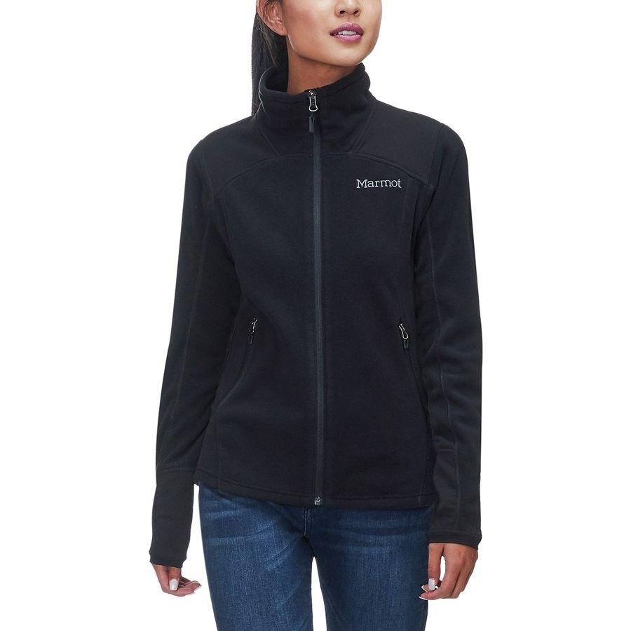 (取寄)マーモット レディース フラッシュポイント フリース ジャケット Marmot Women Flashpoint Fleece Jacket Black
