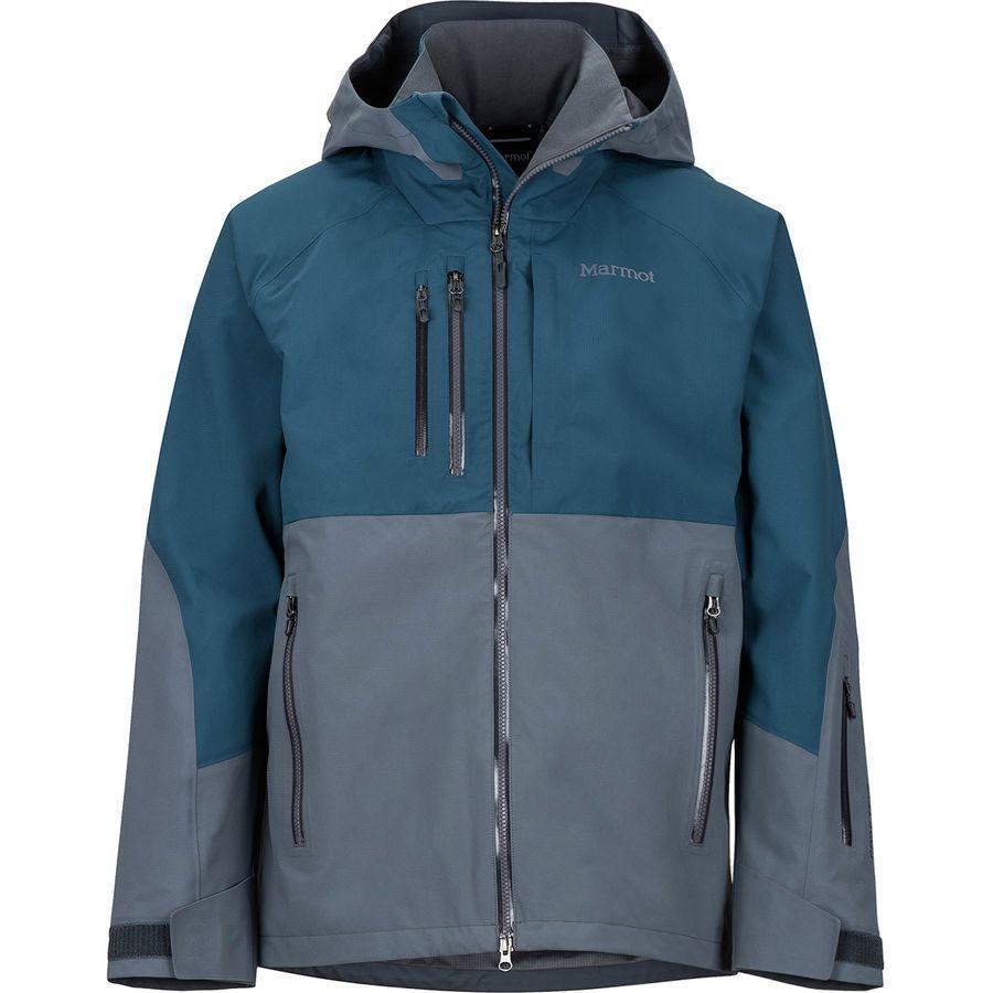【クーポンで最大2000円OFF】(取寄)マーモット メンズ BLプロ ジャケット Marmot Men's BL Pro Jacket Steel Onyx/Denim