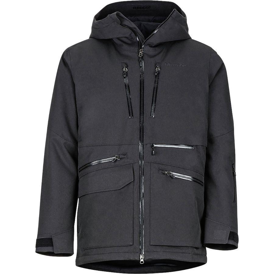【クーポンで最大2000円OFF】(取寄)マーモット メンズ シュッシー フェザーレス ジャケット Marmot Men's Schussing Featherless Jacket Black