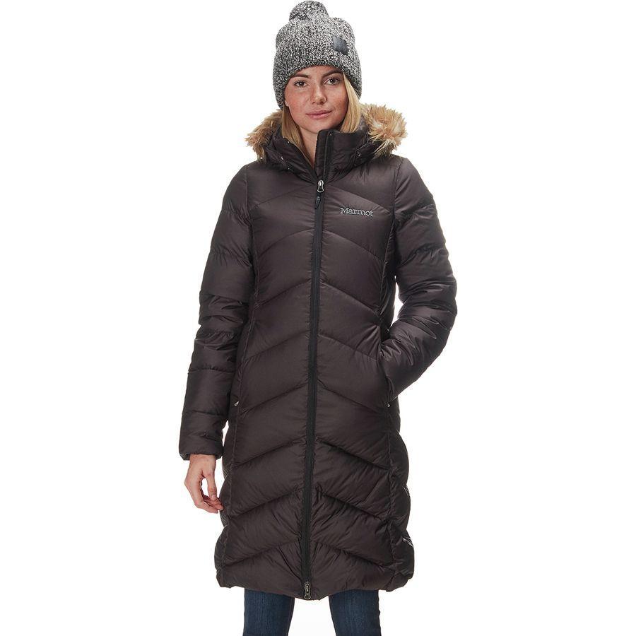 (取寄)マーモット レディース モントルー ダウン コート Marmot Women Montreaux Down Coat Black