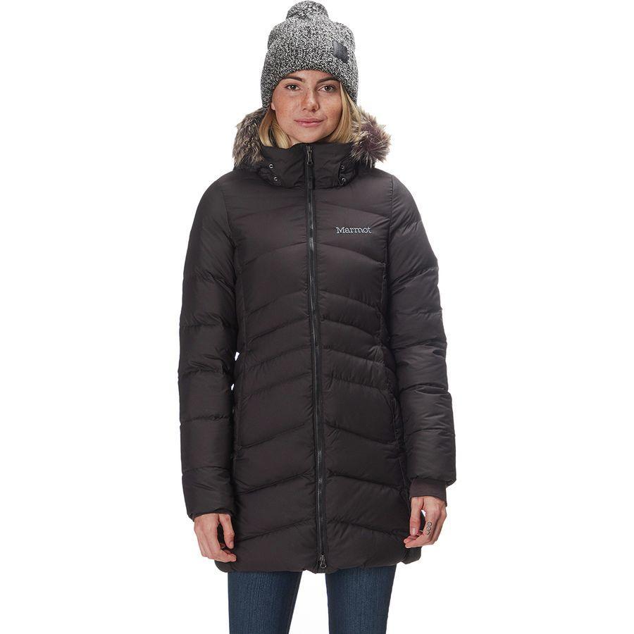 (取寄)マーモット レディース モントリオール ダウン コート Marmot Women Montreal Down Coat Black