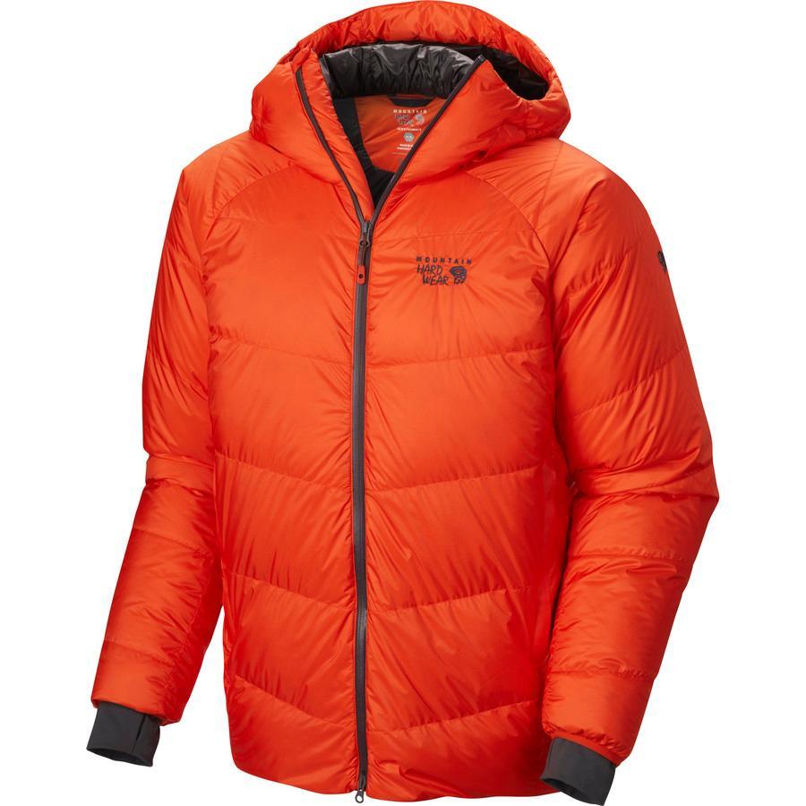 【ハイキング 登山 トレッキング 山登り アウトドア カジュアル 防寒】【ジャケット アウター ウェア ダウンジャケット ダウン】【メンズ 男性用】 (取寄)マウンテンハードウェア メンズ ニラス ダウン ジャケット Mountain Hardwear Men's Nilas Down Jacket State Orange