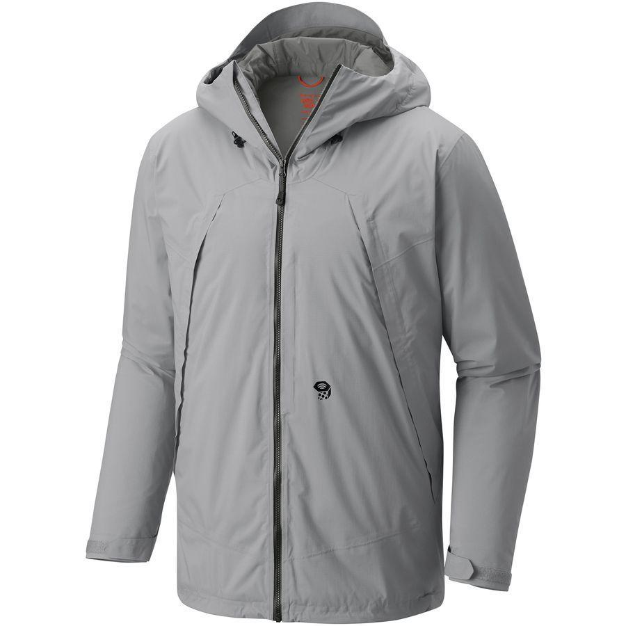【クーポンで最大2000円OFF】(取寄)マウンテンハードウェア メンズ マローダー インサレーテッド ジャケット Mountain Hardwear Men's Marauder Insulated Jacket Grey Ice