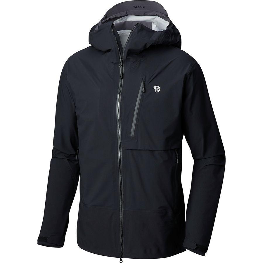 【クーポンで最大2000円OFF】(取寄)マウンテンハードウェア メンズ スーパーフォーマ ジャケット Mountain Hardwear Men's Superforma Jacket Black