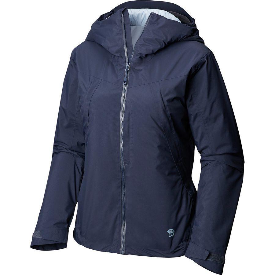(取寄)マウンテンハードウェア レディース マローダー インサレーテッド ジャケット Mountain Hardwear Women Marauder Insulated Jacket Dark Zinc
