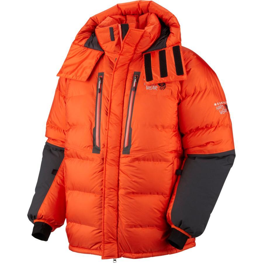 (取寄)マウンテンハードウェア メンズ アブソリュート ゼロ ダウン パーカー Mountain Hardwear Men's Absolute Zero Down Parka State Orange/Shark