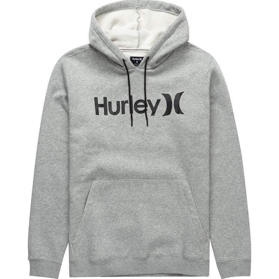 MINERALTEAL パーカー・スウェットシャツ ハーレー アウター Hurley Mens Surf Check Hoodie BLACKHTR/ メンズ