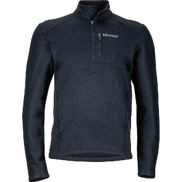 (取寄)マーモット メンズ ドロップ ライン 1/2-Zip フリース ジャケット Marmot Men's Drop Line 1/2-Zip Fleece Jacket Black