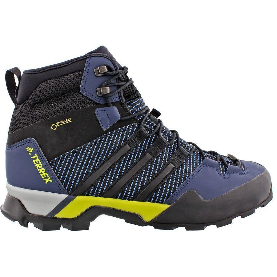 (取寄)アディダス メンズ アウトドア テレックス スコープ ハイ Gtx ハイキング ブーツ Adidas Men's Outdoor Terrex Scope High GTX Hiking Boot Core Blue/Black/Collegiate Navy