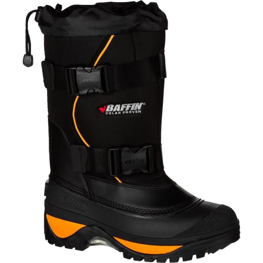 (取寄)バフィン メンズ ウルフ ウィンター ブーツ Baffin Men's Wolf Winter Boot Black/Expedition Gold