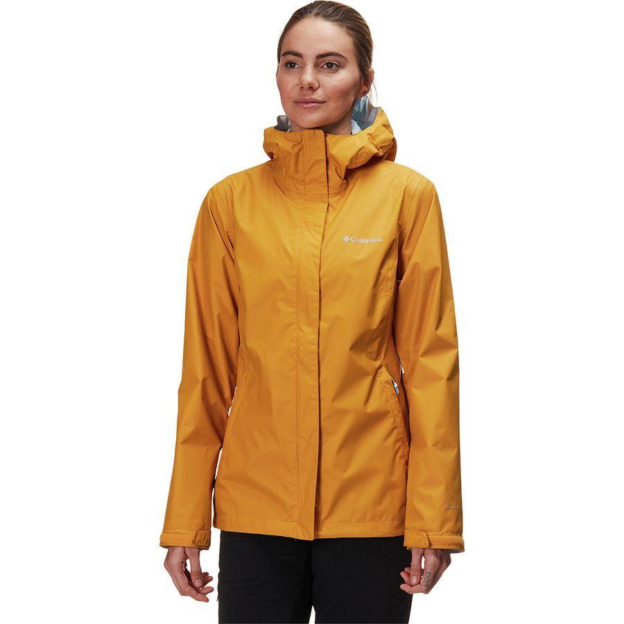 (取寄)コロンビア レディース アルカディア 2 レイン ジャケット Columbia Women Arcadia II Rain Jacket Raw Honey