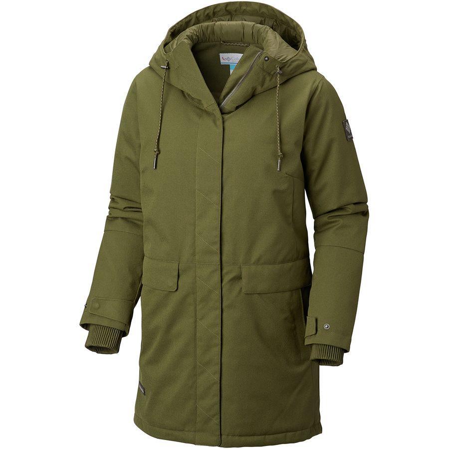 (取寄)コロンビア レディース バウンダリ ベイ インサレーテッド ジャケット Columbia Women Boundary Bay Insulated Jacket Nori