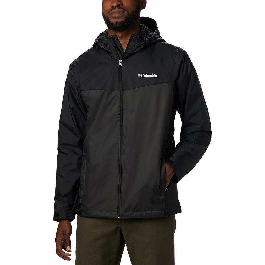 (取寄)コロンビア メンズ Glennaker シェルパ ラインド ジャケット Columbia Men's Glennaker Sherpa Lined Jacket Black/Shark