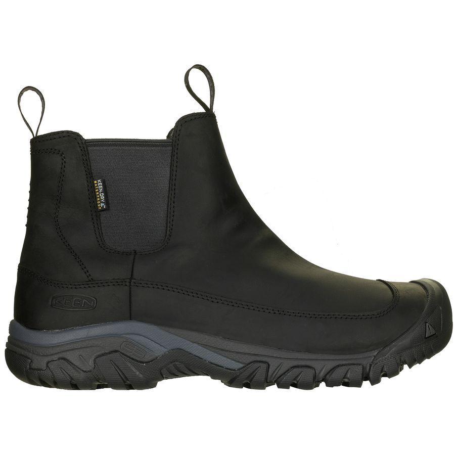 トレッキング クライミング アウトドア 登山靴 メンズ シューズ ブーツ 大きいサイズ 毎日続々入荷 取寄 キーン KEEN アンカレッジ III Men's 蔵 Anchorage Raven Boot 3 Black