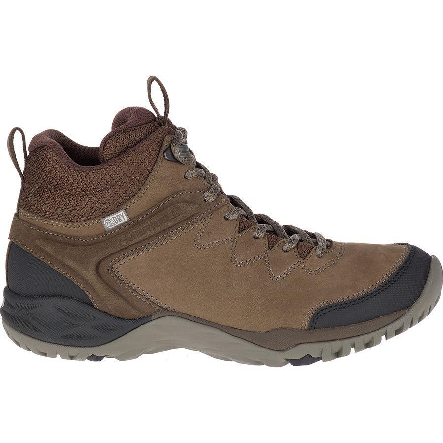 (取寄)メレル レディース サイレン トラベラー Q2 ミッド ハイキング ブーツ Merrell Women Siren Traveller Q2 Mid Hiking Boot Slate/Black