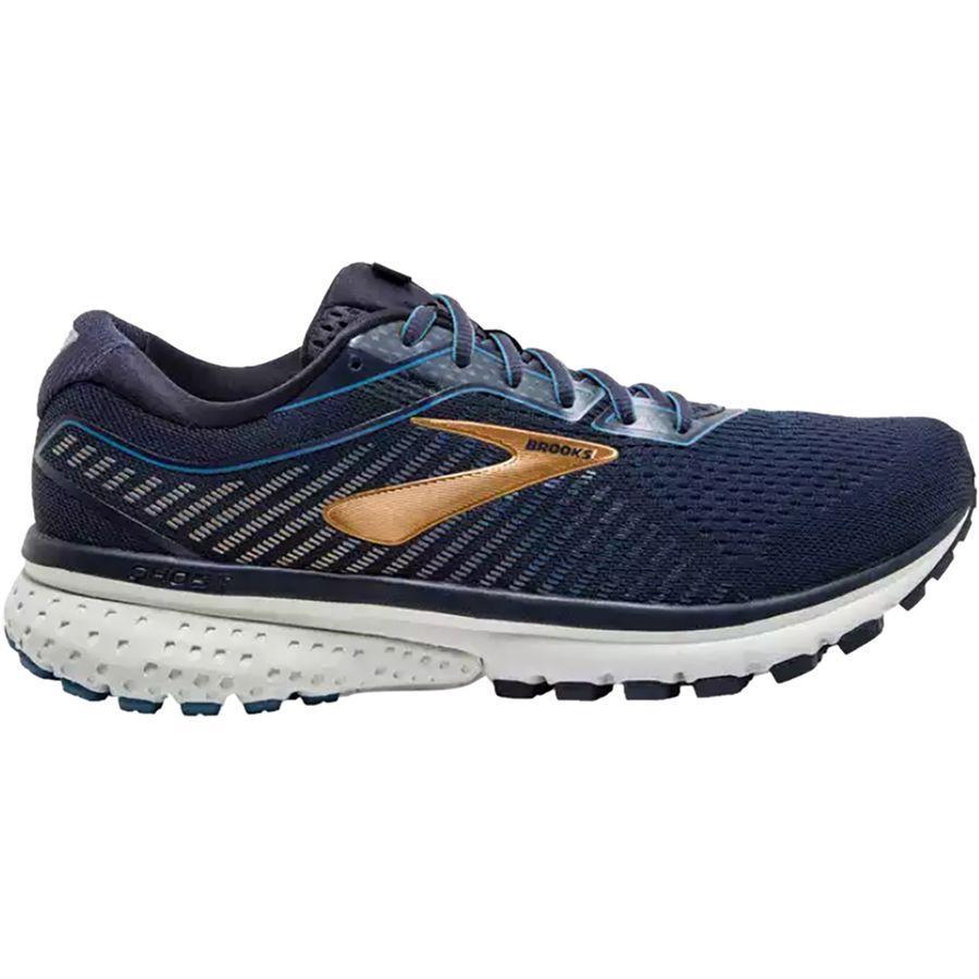 (取寄)ブルックス メンズ ゴースト 12 ランニングシューズ Brooks Men's Ghost 12 Running Shoe Navy/Deep Water/Gold