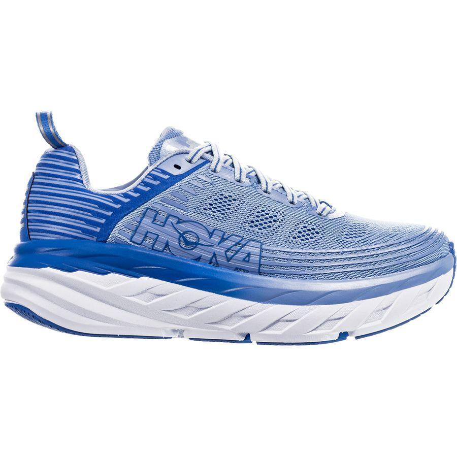 (取寄)ホカ オネ オネ レディース ボンダイ 6 ランニングシューズ HOKA ONE ONE Women Bondi 6 Running Shoe Serenity/Palace Blue