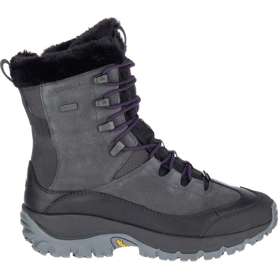 (取寄)メレル レディース サーモ レア ミッド WP ブーツ Merrell Women Thermo Rhea Mid WP Boot Granite