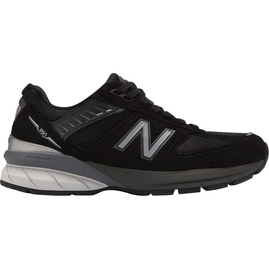 (取寄)ニューバランス レディース 990v5スペシャリティー ランニングシューズ New Balance Women 990v5 Specialty Running Shoe Black/Silver
