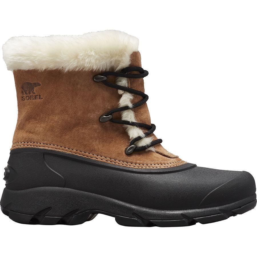 (取寄)ソレル レディース スノー エンジェル レース ブーツ Sorel Women Snow Angel Lace Boot Rootbeer
