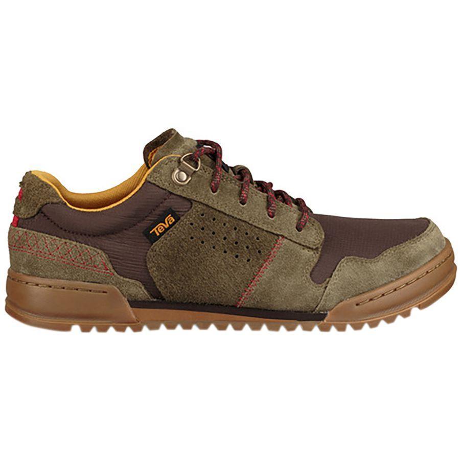 スニーカー シューズ 靴 ファッション ブランド ストリート メンズ 大きいサイズ 取寄 テバ ハイサイド '84 Brown Dark Men's 大幅値下げランキング Teva Shoe Highside Olive 評判