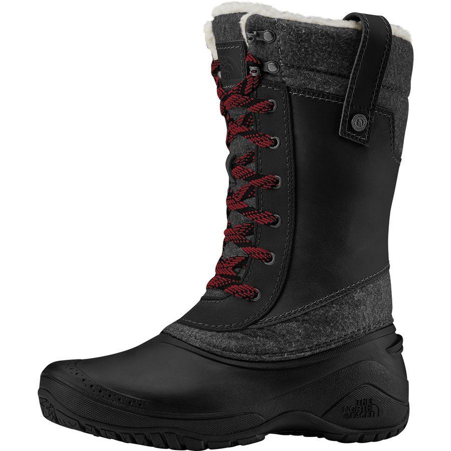 (取寄)ノースフェイス レディース シェリスタ 3 ミッド ブーツ The North Face Women Shellista III Mid Boot Tnf Black/Zinc Grey