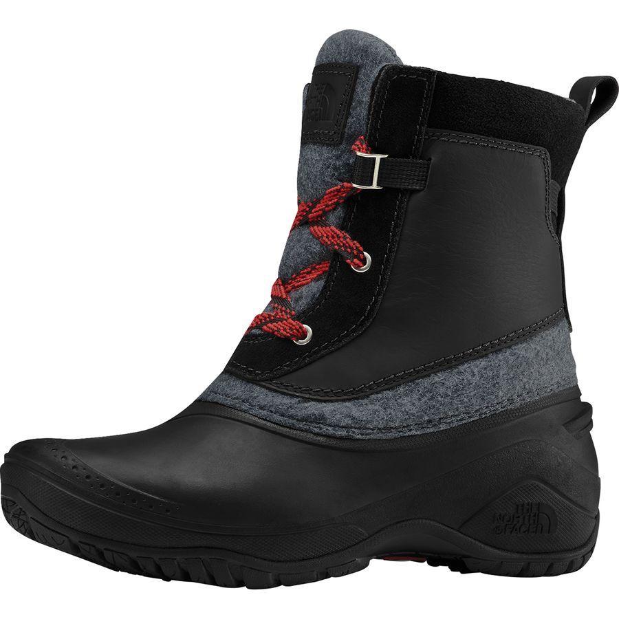 (取寄)ノースフェイス レディース シェリスタ 3 ショーティ ブーツ The North Face Women Shellista III Shorty Boot Tnf Black/Zinc Grey