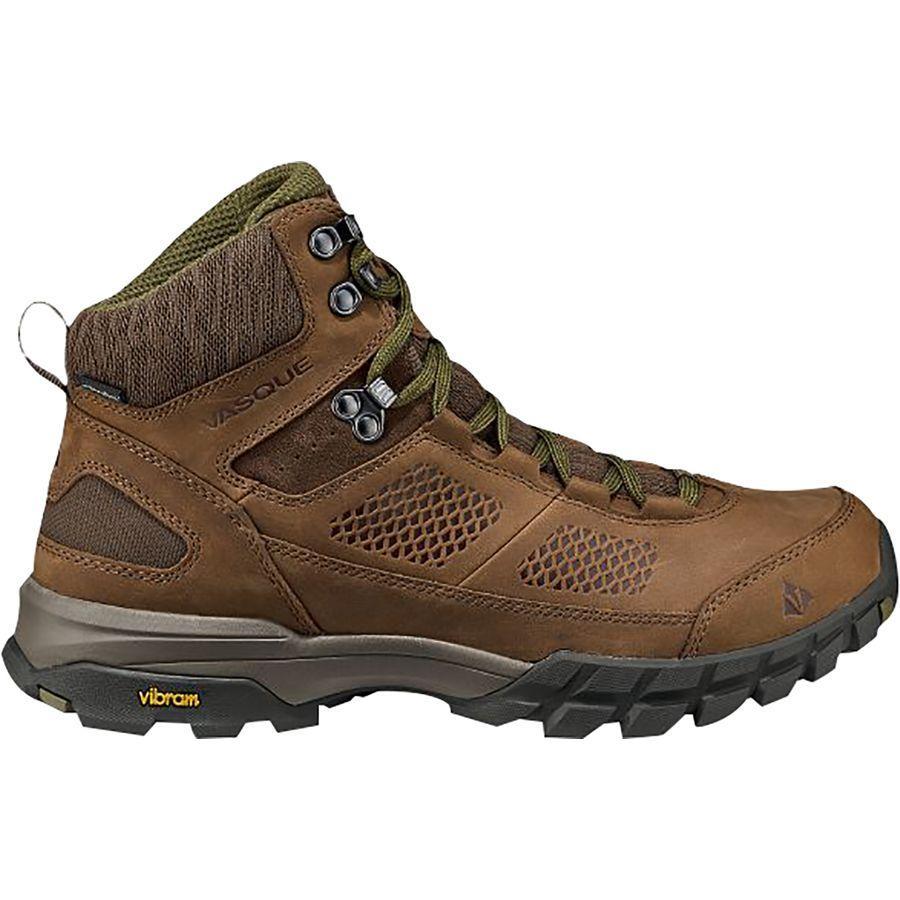 バスク メンズ タラス AT ウルトラドライ ハイキング ブーツ 登山 アウトドア Vasque Men's Talus AT UltraDry Hiking Boot Dark Earth/Avocado