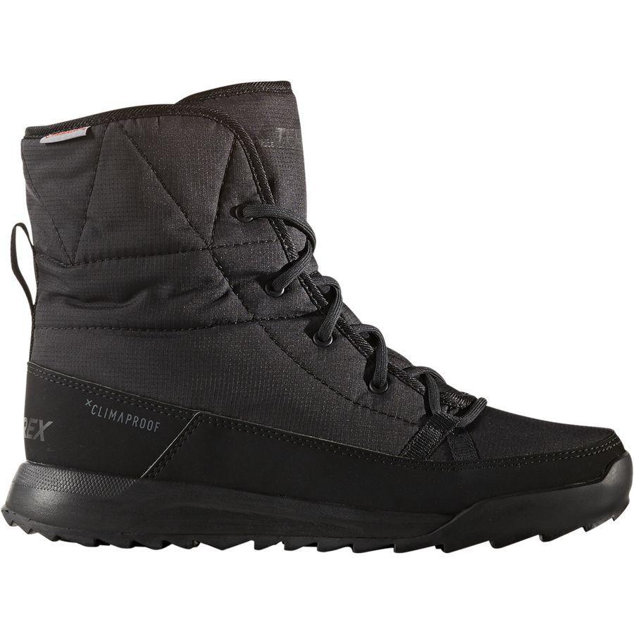 アディダス レディース ハイキングシューズ アウトドアブーツ パデッド ブーツ ブラック S80748 Adidas Women Outdoor CW Choleah Padded CP Boot Black