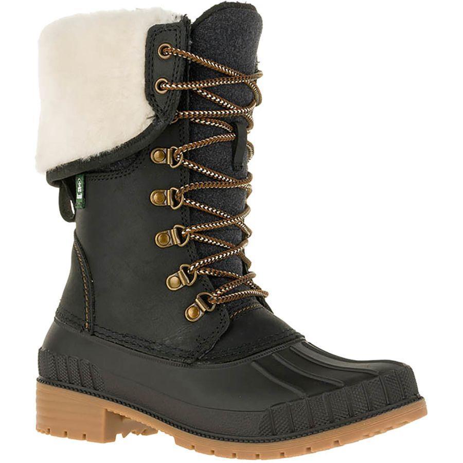 (取寄)カミック レディース シエナF2 ブーツ Kamik Women SiennaF2 Boot Black